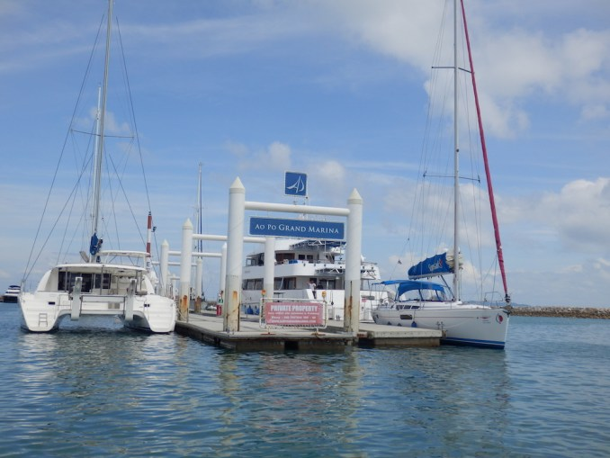 AO PO GRAND MARINA: BOAT RANSFER TO NAKA ISLAND