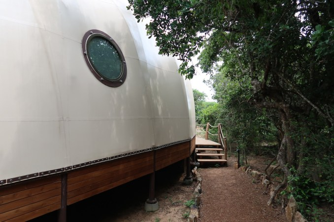 WILD COAST TENTED LODGE: COCOON SUITE - EXTERIOR