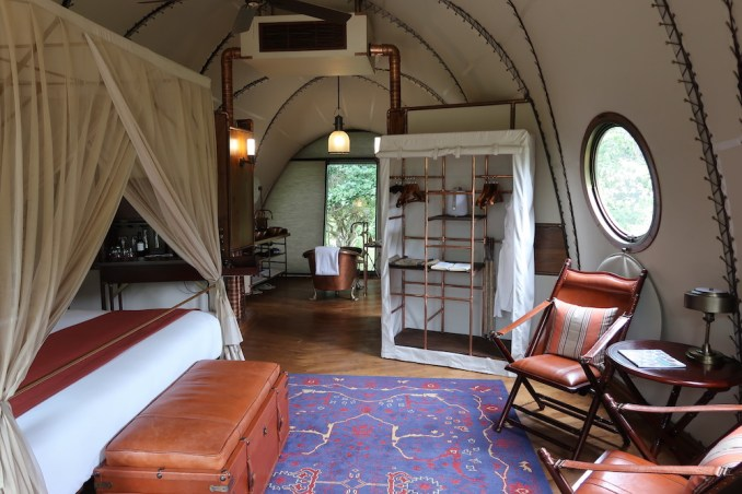 WILD COAST TENTED LODGE: COCOON SUITE - BEDROOM