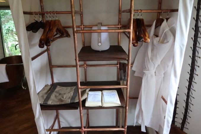 WILD COAST TENTED LODGE: COCOON SUITE - BEDROOM