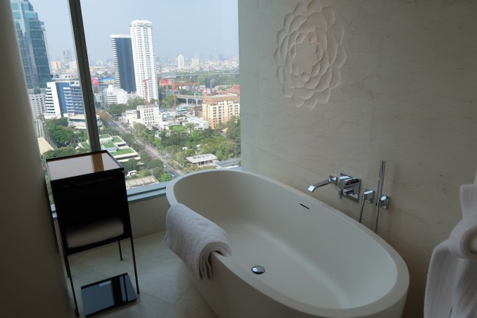 PARK HYATT BANGKOK KING ROOM: BATHROOM