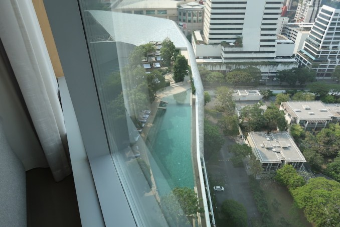 PARK HYATT BANGKOK KING ROOM: VIEWS