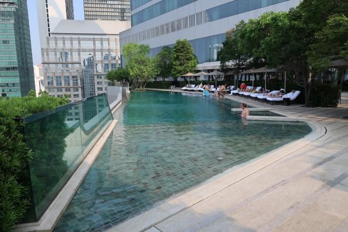 PARK HYATT BANGKOK: POOL & SUNDECK
