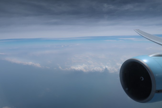 SCENERY AFTER TAKEOFF