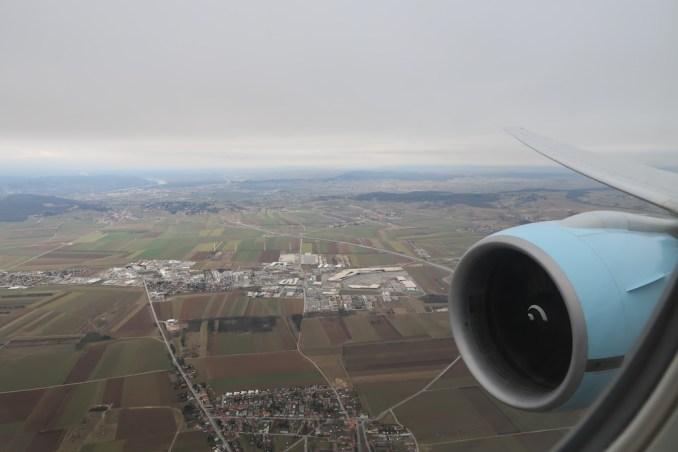 LANDING AT VIENNA