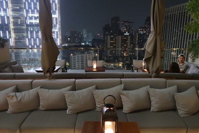 PARK HYATT BANGKOK AT NIGHT