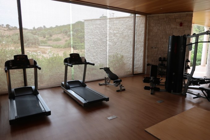 AMANZOE BEACH CLUB: GYM