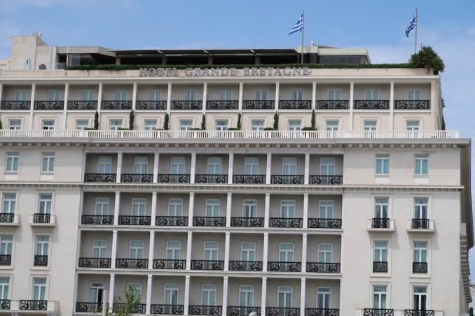 HOTEL GRANDE BRETAGNE: EXTERIOR