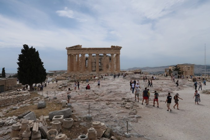 ACROPOLIS: PARTHENON TEMPLE