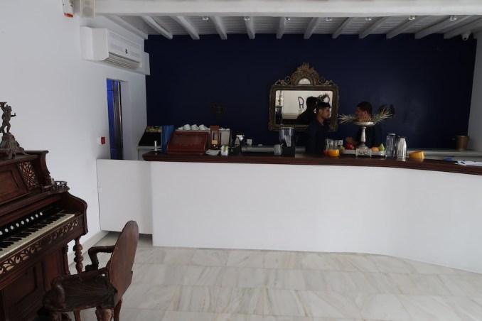 KIVOTOS MYKONOS: BREAKFAST AT LA MEDUSE RESTAURANT