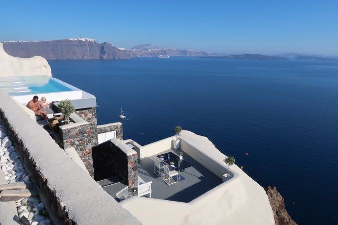 CANAVES OIA SUITES: PANORAMA BALCONY