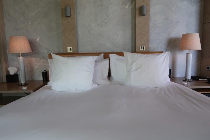 AMANZOE POOL PAVILION: BEDROOM
