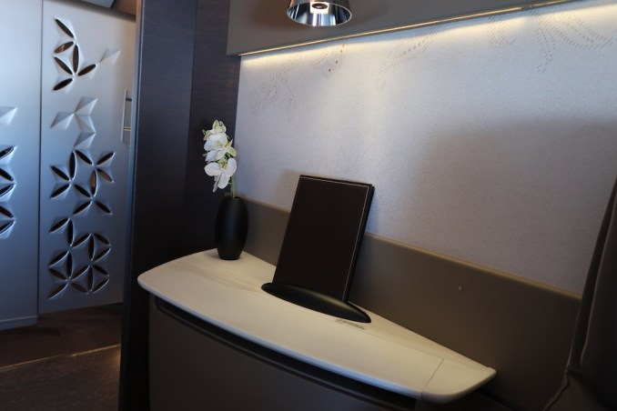 SINGAPORE AIRLINES A380 FIRST CLASS SUITE