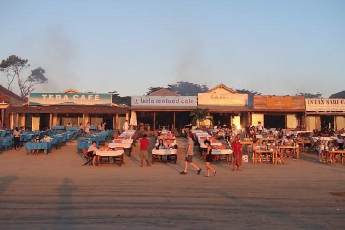 JIMBARAN BAY - SUNSET
