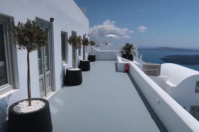 GRACE SANTORINI: GYM & PILATES STUDIO TERRACE