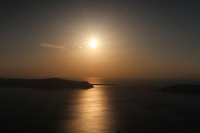 GRACE SANTORINI: SUNSET