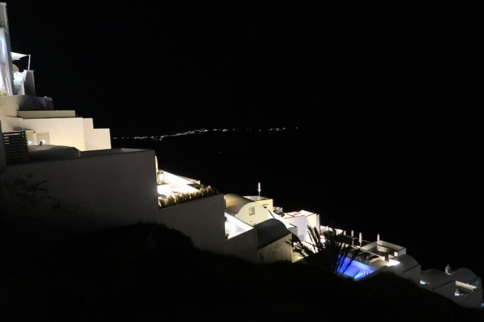 GRACE SANTORINI AT NIGHT
