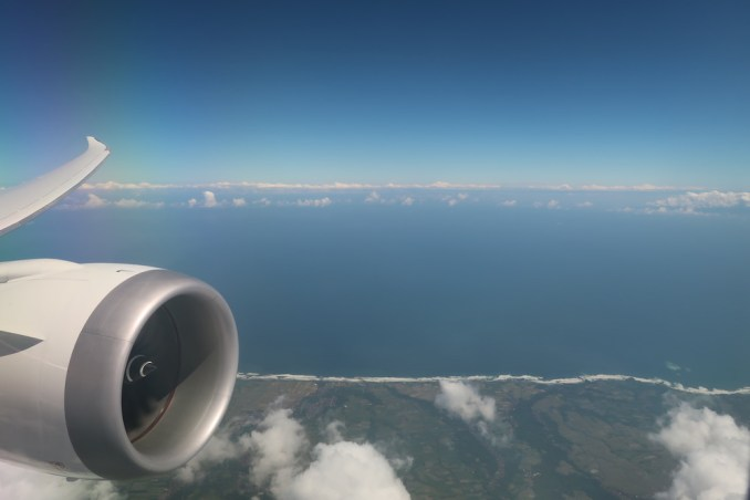 SINGAPORE AIRLINES B787: INFLIGHT VIEWS