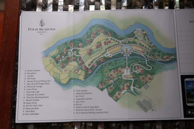 FOUR SEASONS SAYAN: RESORT MAP