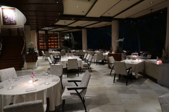 FOUR SEASONS SAYAN: AYUNG TERRACE - DINNER