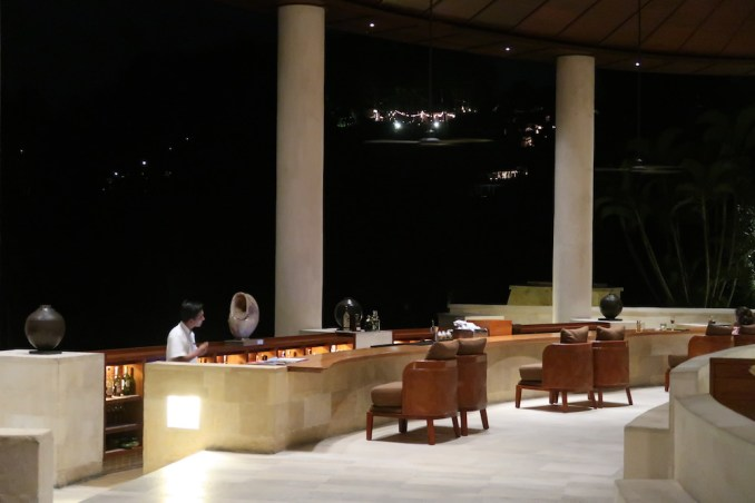 FOUR SEASONS SAYAN AT NIGHT