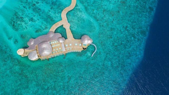 OUT OF THE BLUE, SONEVA FUSHI, MALDIVES