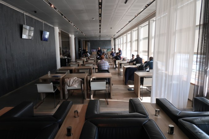 BRUSSELS AIRLINES BUSINESS LOUNGE (THE SUITE)