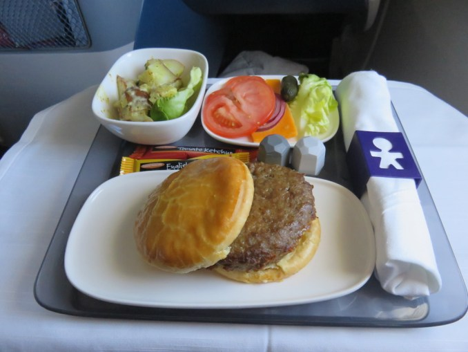 DELTA B767 BUSINESS CLASS: PRE-ARRIVAL MEAL