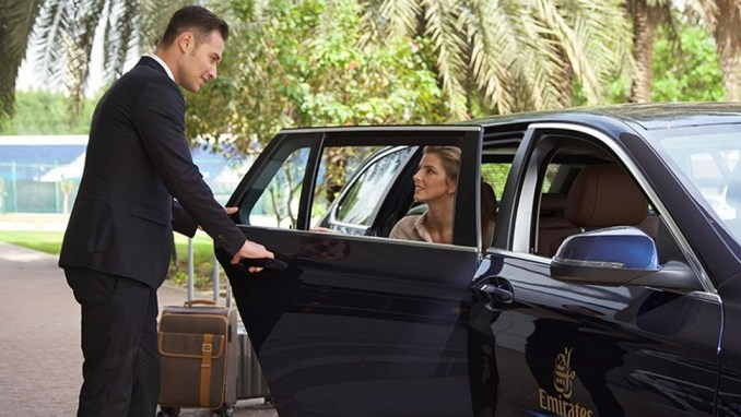 COMPLIMENTARY CHAUFFEUR-DRIVEN AIRPORT TRANSFERS