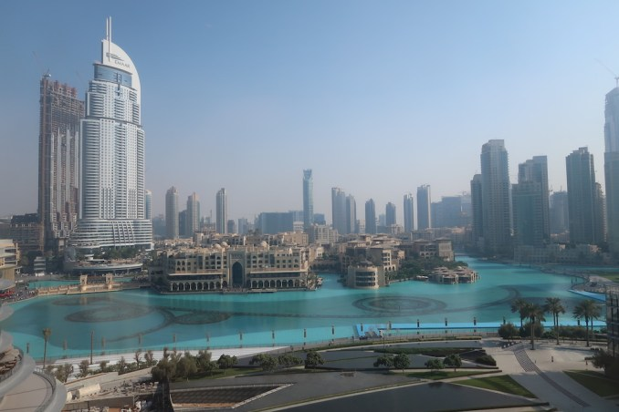 ARMANI HOTEL DUBAI: FOUNTAIN SUITE - VIEW