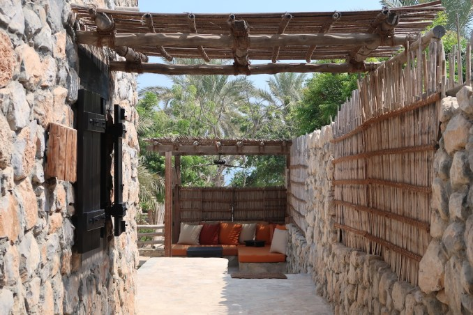 SIX SENSES ZIGHY BAY: SPA POOL VILLA - ENTRANCE