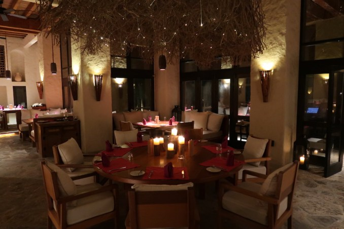SIX SENSES ZIGHY BAY: DINNER AT SUMMER HOUSE
