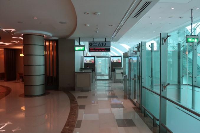 EMIRATES FIRST CLASS LOUNGE AT DUBAI: GATE ACCESS