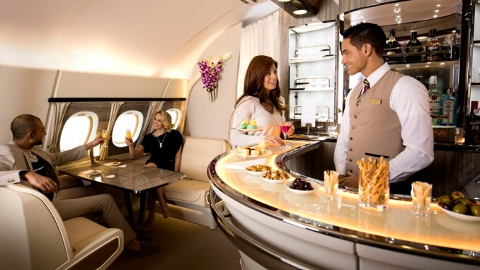 ONBOARD LOUNGE & BAR(A380 AIRCRAFT ONLY)