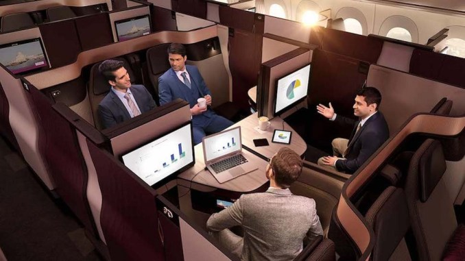 A TRIP IN THE WORLD'S BEST BUSINESS CLASS, THE QATAR AIRWAY QSUITE