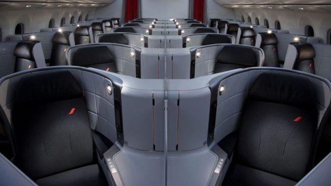 FLYING IN BUSINESS CLASS ONBOARD AN AIR FRANCE B787 DREAMLINER