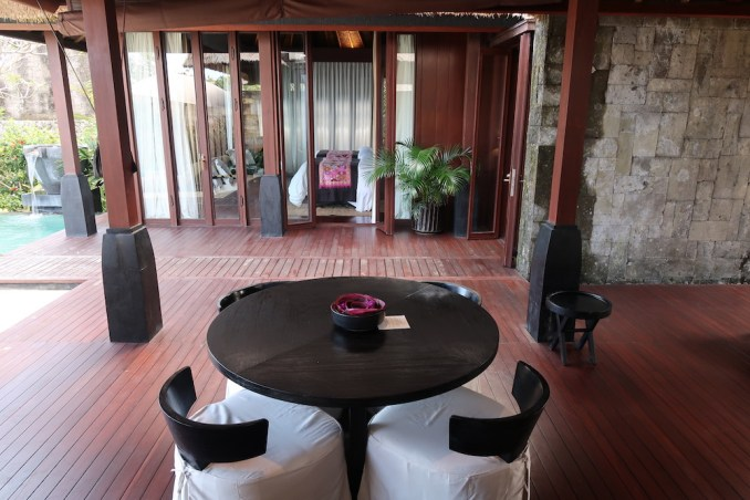 BULGARI BALI: OCEAN VIEW VILLA - OUTDOOR LIVING AREA