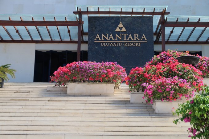 ANANTARA ULUWATU: ENTRANCE