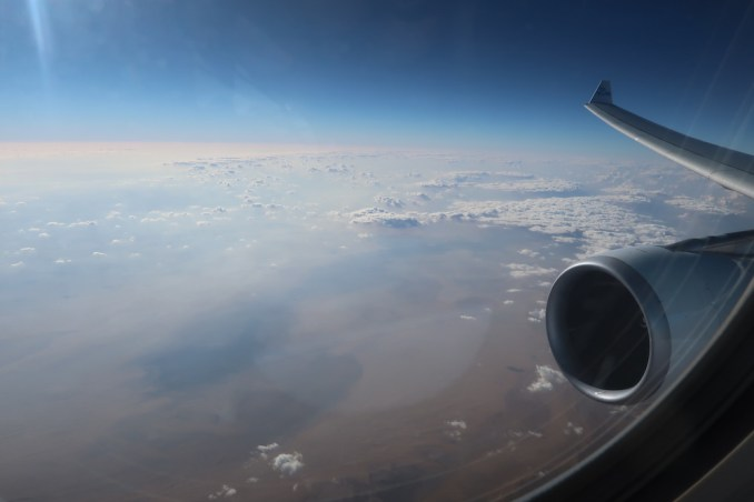 KLM A330: VIEWS OF THE SAHARA DESERT