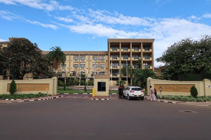 SERENA KIGALI HOTEL: EXTERIOR