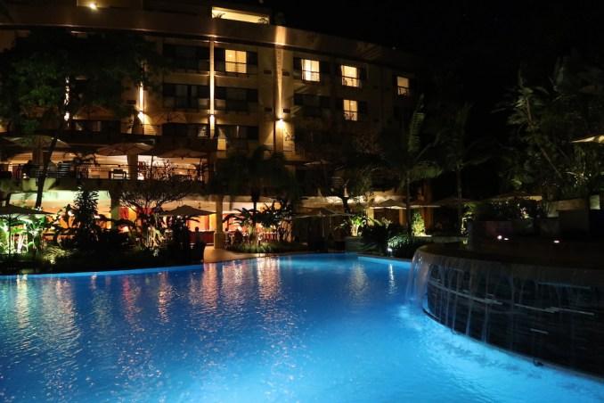 SERENA KIGALI HOTEL AT NIGHT