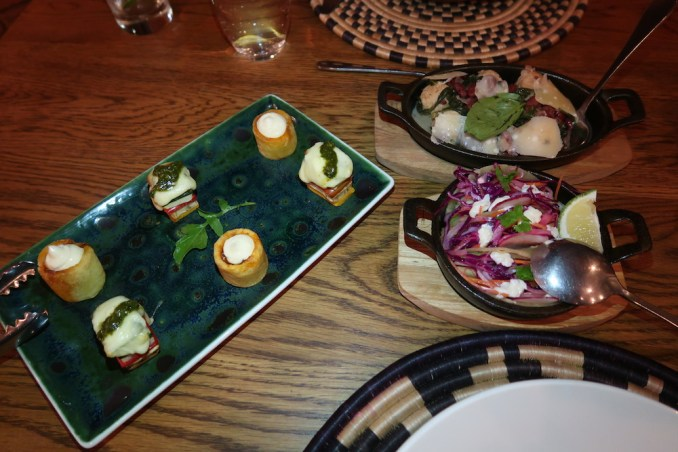 BISATE LODGE: DINNER