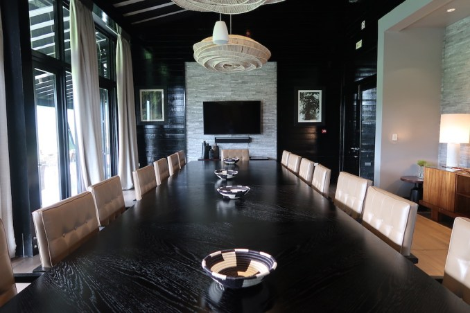 ONE&ONLY NYUNGWE HOUSE: MAIN PAVILION - MEETING ROOM