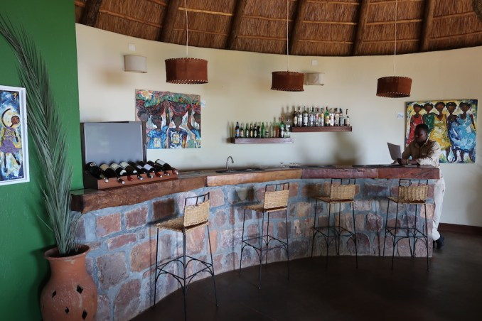 RUZIZI TENTED LODGE: DINING ROOM