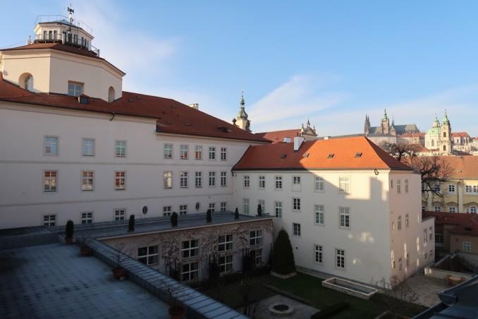 MANDARIN ORIENTAL PRAGUE - INNER COURTYARD