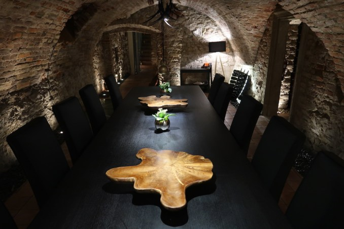 MANDARIN ORIENTAL PRAGUE - SPICES RESTAURANT (WINE CELLAR)