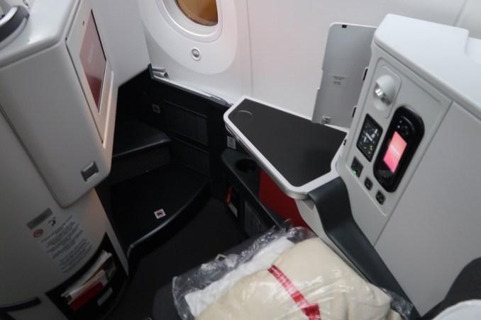AVIANCA B787 BUSINESS CLASS SEAT