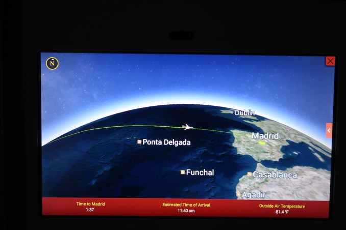 AVIANCA B787 BUSINESS CLASS: INFLIGHT ENTERTAINMENT