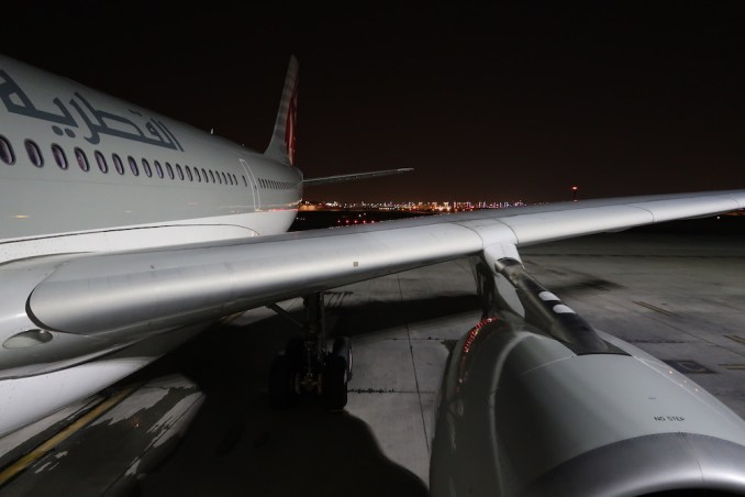 QATAR AIRWAYS AIRBUS A330-200 AT HAMAD INTERNATIONAL AIRPORT