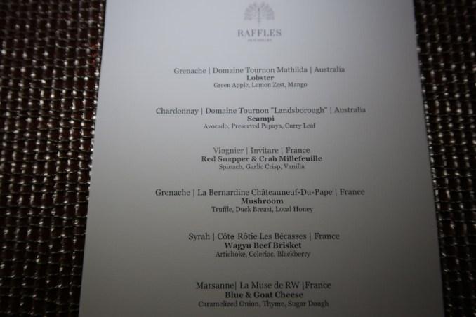 RAFFLES SEYCHELLES: LOSEAN RESTAURANT (DINNER)